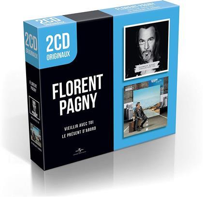 Florent Pagny - Le Present D'Abord / Vieillir Avec Toi - 2CD Originaux (2 CDs)