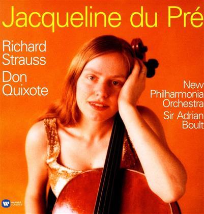 Richard Strauss (1864-1949), Sir Adrian Boult, Jacqueline du Pré & New Philharmonia Orchestra - Don Quixote (LP)
