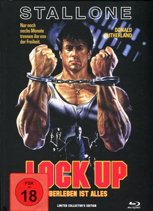 Lock Up (1989) (Cover D, Collector's Edition, Limited Edition, Mediabook, Uncut, Blu-ray + DVD)