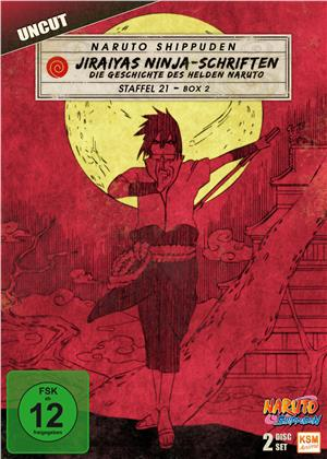 Naruto Shippuden - Staffel 21 Box 2 (Uncut, 2 DVDs)