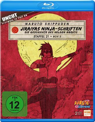 Naruto Shippuden - Staffel 21 Box 2 (Uncut, 2 Blu-rays)