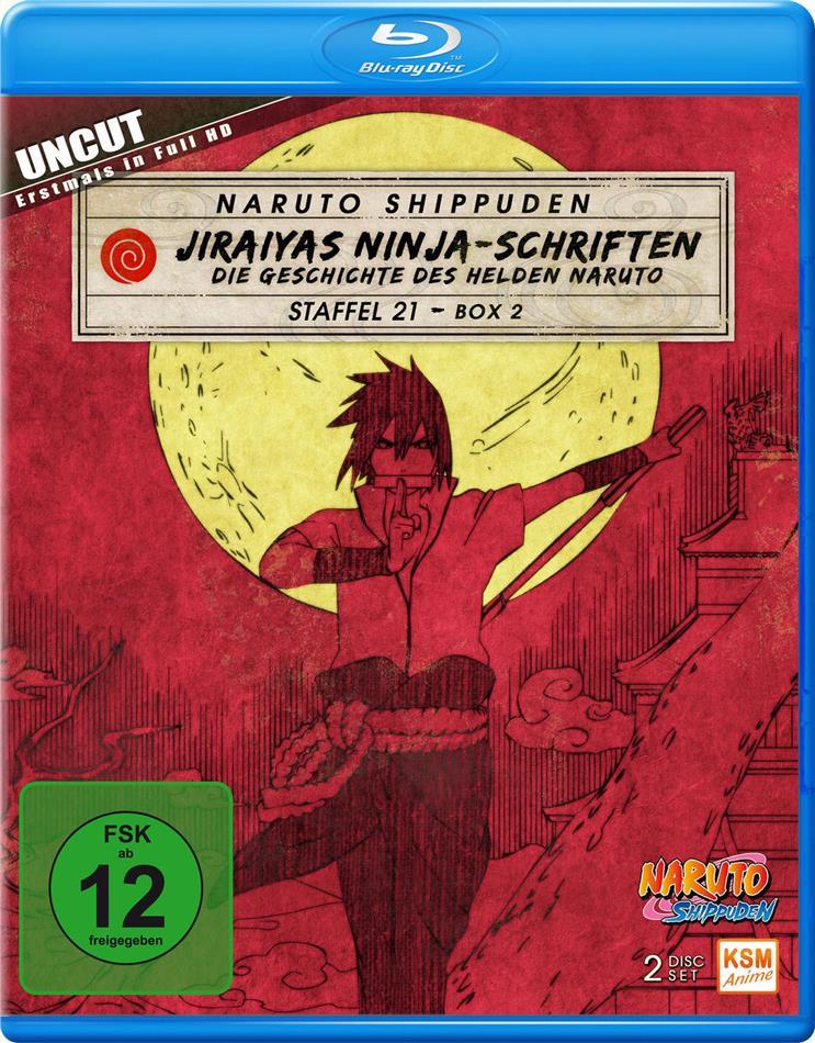 Naruto Shippuden - Staffel 21 Box 2 (Uncut, 2 Blu-ray)