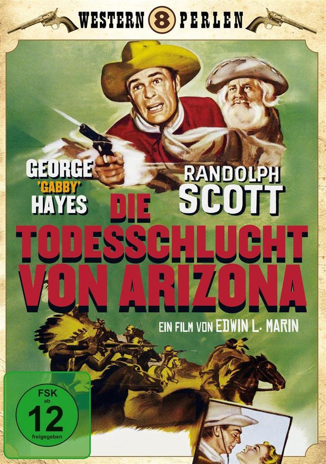 Die Todesschlucht von Arizona (1950) (Western Perlen, s/w)