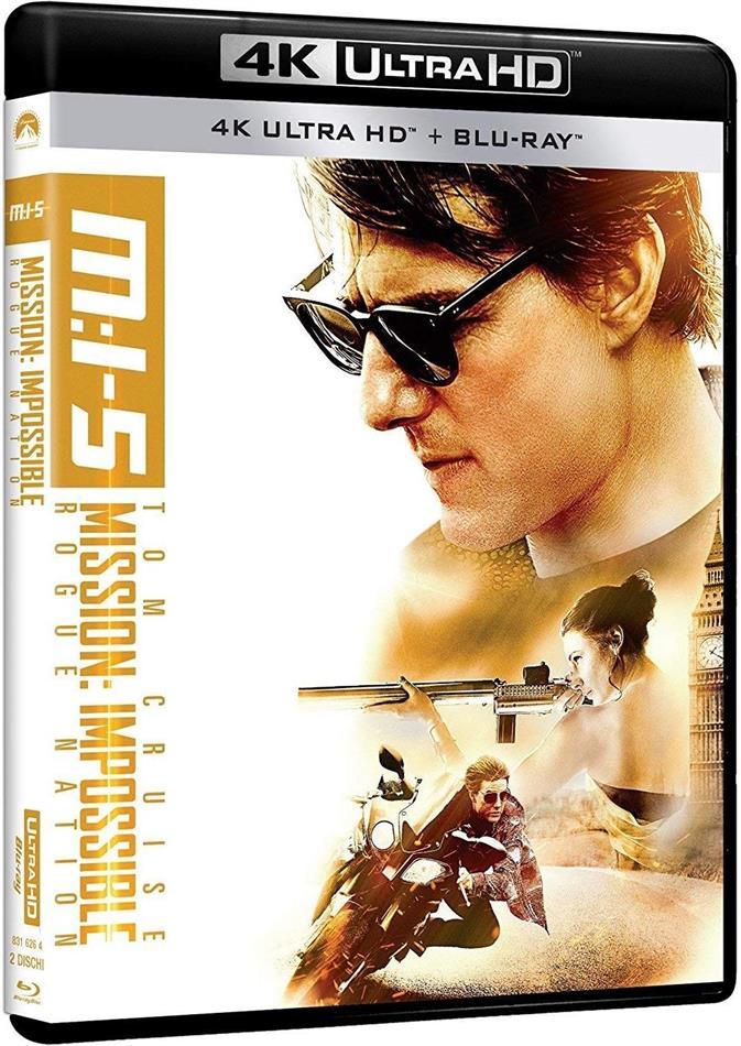 Mission Impossible 5 (2015) (4K Ultra HD + Blu-ray)