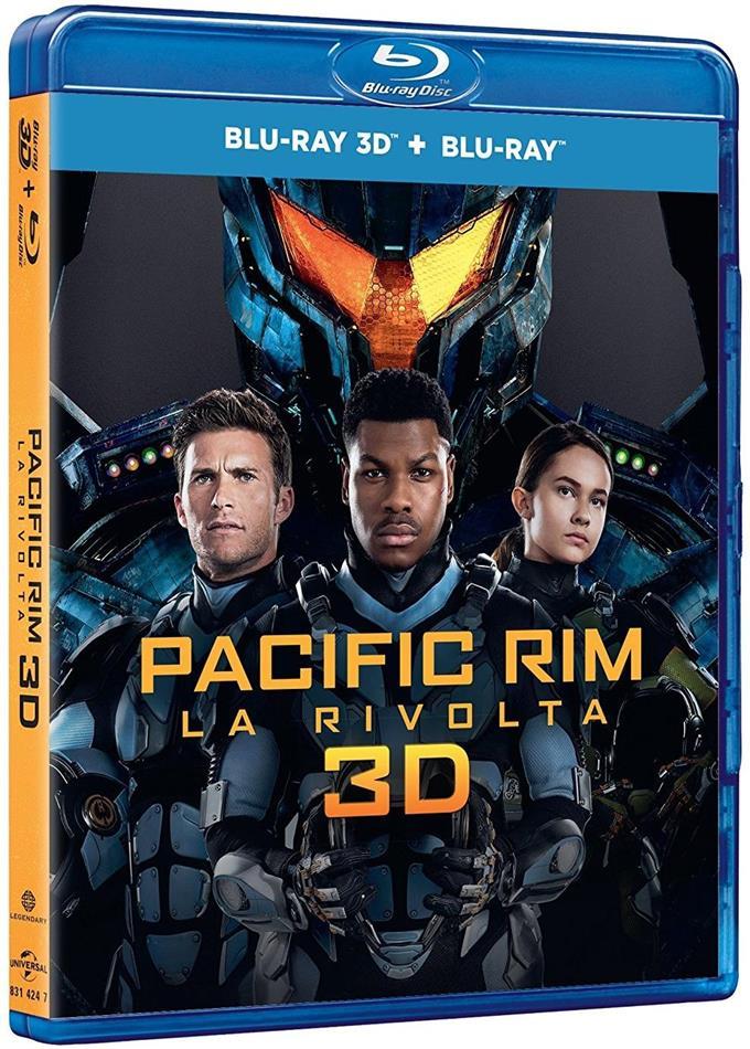 Pacific Rim 2 - La rivolta (2018) (Blu-ray 3D + Blu-ray)
