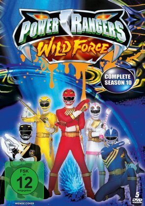Power Rangers - Wild Force - Staffel 10 (5 DVDs)