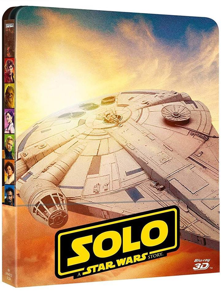 Solo - A Star Wars Story (2018) (Steelbook, Blu-ray 3D + 2 Blu-rays)