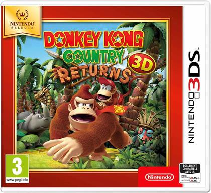 Donkey Kong Country Returns 3D - Nintendo Selects
