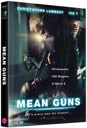 Mean Guns (1997) (Cover B, Limited Edition, Mediabook, Uncut, Blu-ray + 2 DVDs)