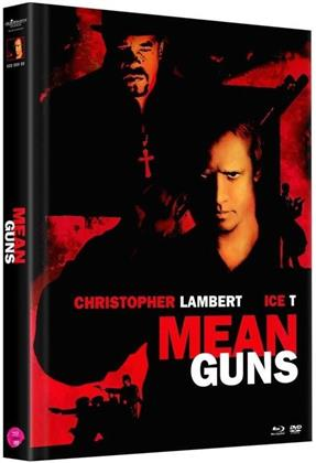 Mean Guns (1997) (Cover A, Limited Edition, Mediabook, Uncut, Blu-ray + 2 DVDs)
