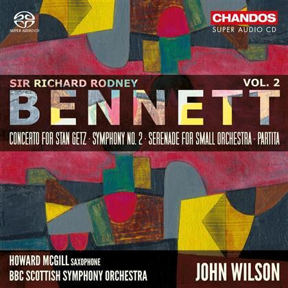 Sir Richard Rodney Bennett (1936-2012), John Wilson & BBC Scottish Symphony Orchestra - Orchestral Works Vol. 2