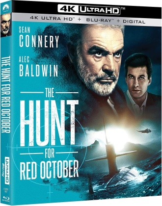 The Hunt For Red October (1990) (4K Ultra HD + Blu-ray)