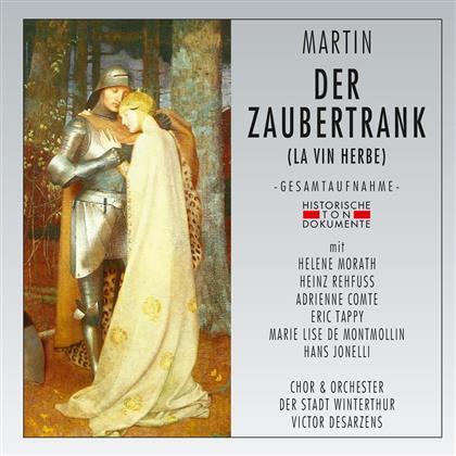 Helene Morath, Heinz Rehfuss, Eric Tappy, Frank Martin (1890-1974), Victor Desarzens, … - Der Zaubertrank (La Vin Herbe) (2 CDs)