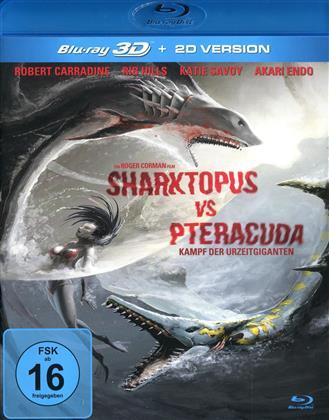 Sharktopus vs Pteracuda - Kampf der Urzeitgiganten (2014)