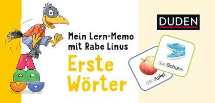 Mein Lern-Memo mit Rabe Linus – Erste Wörter