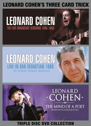 Leonard Cohen - Three Card Trick (Inofficial, 3 DVDs)