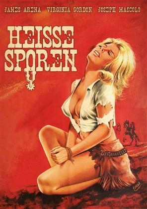 Heisse Sporen (1968) (Kleine Hartbox, Cover B, Limited Edition, Uncut)
