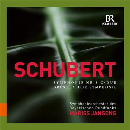 Franz Schubert (1797-1828), Mariss Jansons & Symphonieorchester des Bayerischen Rundfunks - Symphonie Nr. 8 C-Dur