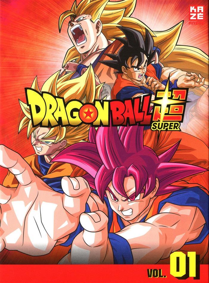 Dragon Ball Super - Vol. 1: Arc 1 - Kampf der Götter (3 DVDs)