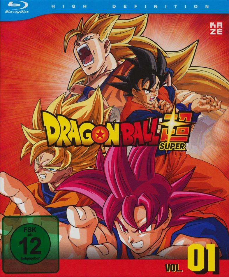 Dragon Ball Super - Vol. 1: Arc 1 - Kampf der Götter (2 Blu-rays)