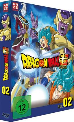Dragon Ball Super - Vol. 2: Arc 2 - Goldener Freezer (3 DVD)