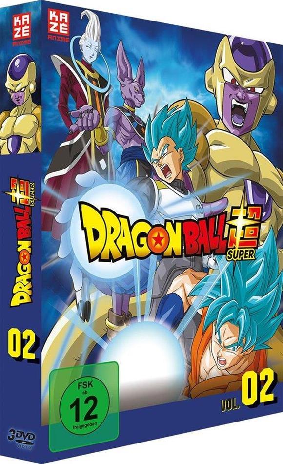 Dragon Ball Super - Vol. 2: Arc 2 - Goldener Freezer (3 DVDs)