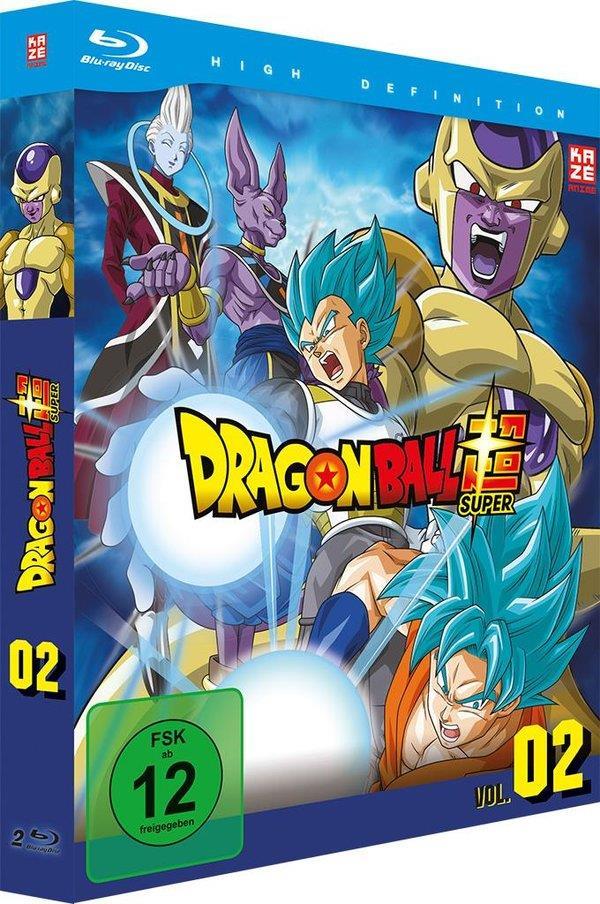Dragon Ball Super - Vol. 2: Arc 2 - Goldener Freezer (2 Blu-rays)