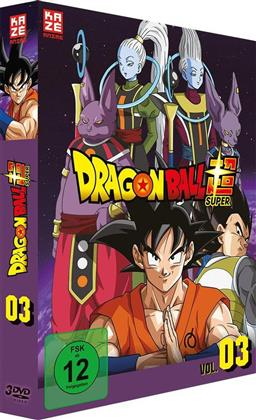 Dragon Ball Super - Vol. 3: Arc 3 - Universum 6 (3 DVD)