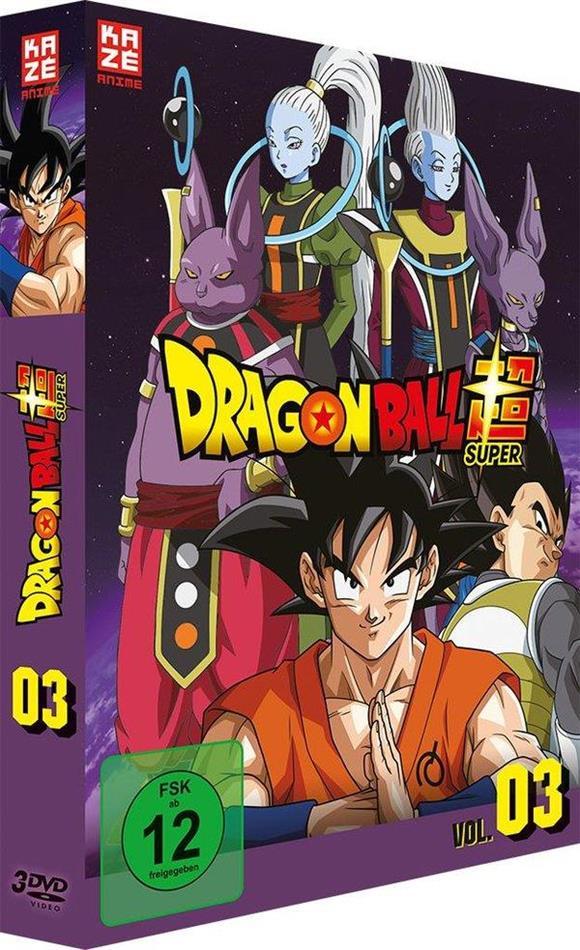 Dragon Ball Super - Vol. 3: Arc 3 - Universum 6 (3 DVDs)