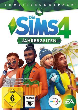 Die Sims 4 - Addon 4 Jahreszeiten - (Code in a Box) (German Edition)
