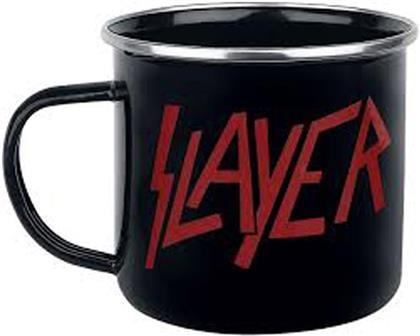 Slayer - Emaille Tasse