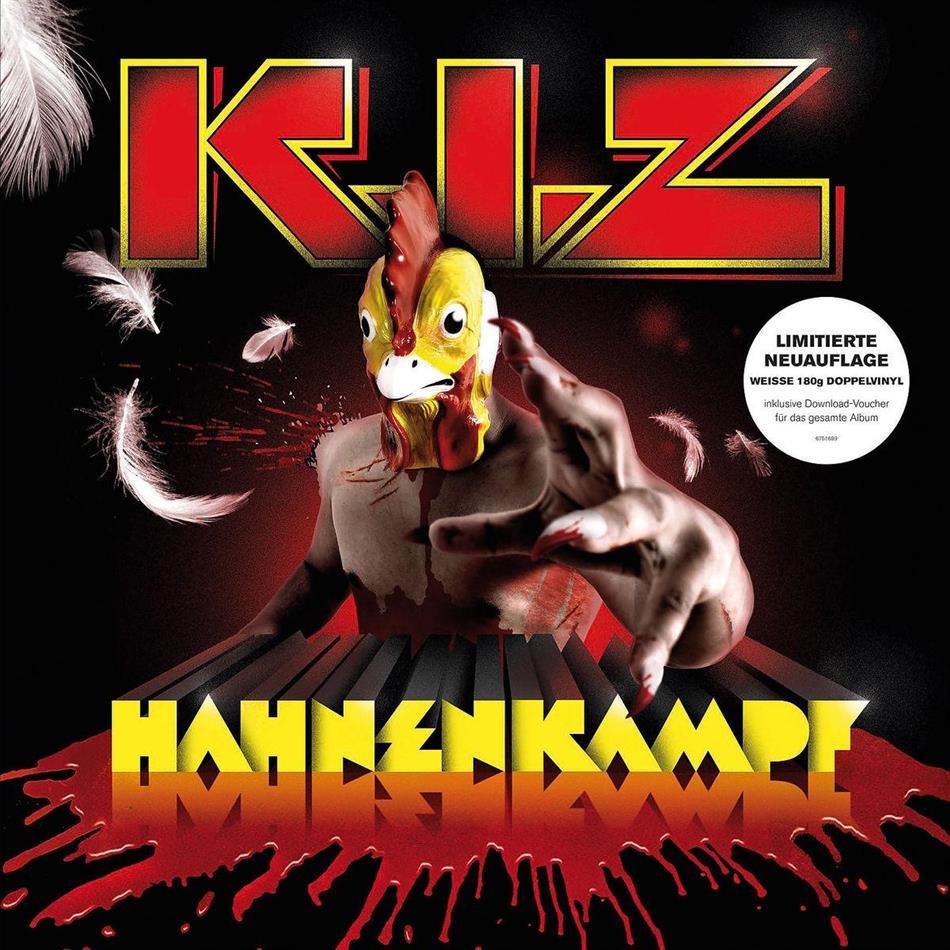 K.I.Z. - Hahnenkampf (2018 Reissue, White Vinyl, 2 LPs)
