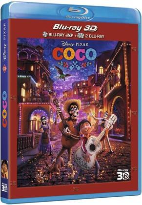 Coco (2017) (Blu-ray 3D (+2D) + 2 Blu-rays)