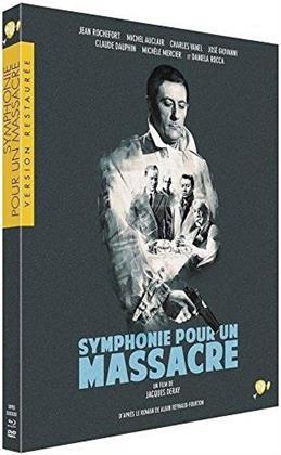 Symphonie pour un massacre (1963) (Collection Version restaurée par Pathé, s/w, Blu-ray + DVD)