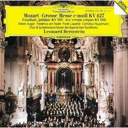 Wolfgang Amadeus Mozart (1756-1791), Leonard Bernstein (1918-1990), Arleen Augér, Frederica von Stade & Symphonieorchester des Bayerischen Rundfunks - Grosse Messe c-moll KV 427 (Japan Edition, Limited Edition)