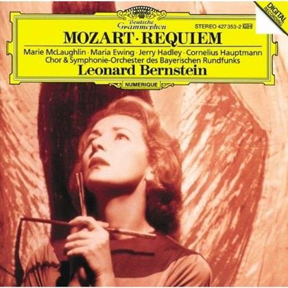 Marie McLaughlin, Jerry Hadley, Wolfgang Amadeus Mozart (1756-1791), Leonard Bernstein (1918-1990) & Symphonieorchester des Bayerischen Rundfunks - Requiem (Japan Edition, Limited Edition)