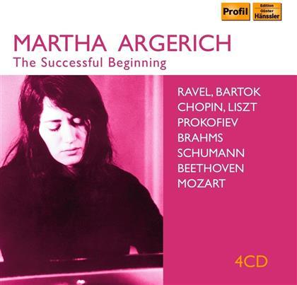 Martha Argerich - The Successful Beginning (4 CDs)