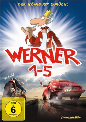 Werner 1 - 5 - Königbox (5 DVDs)