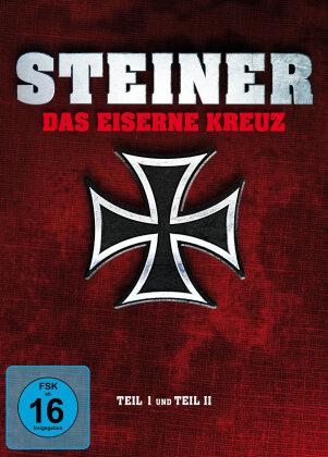 Steiner - Das Eiserne Kreuz Teil I und Teil II (Mediabook, 2 Blu-rays + 2 DVDs)