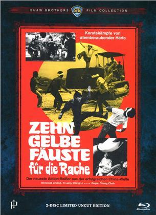 Zehn gelbe Fäuste für die Rache (1972) (Mediabook, Blu-ray + DVD)