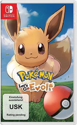 Pokémon - Let's Go, Evoli! (German Edition)