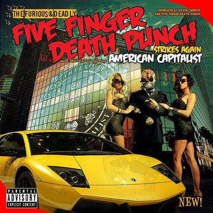 Five Finger Death Punch - American Capitalist (2018 Reissue, Deluxe Edition)