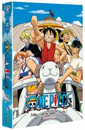 One Piece - Partie 1 - Épisodes 1-195 (Coffret format A4, Collector's Edition, Limited Edition, 33 DVDs)