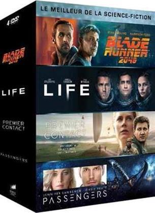 Le meilleur de la Science-Fiction - Blade Runner 2049 / Life / Passenger / Premier Contact (4 DVDs)