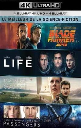 Le meilleur de la Science-Fiction - Blade Runner 2049 / Life / Passenger / Premier Contact (4 4K Ultra HDs)