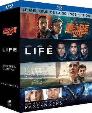 Le meilleur de la Science-Fiction - Blade Runner 2049 / Life / Passenger / Premier Contact (4 Blu-rays)