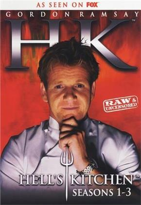 Gordon Ramsay - Hell's Kitchen - Seasons 1-3 (6 DVDs)