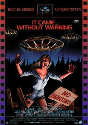 It Came... Without Warning (1980) (Cover C, Kult-Klassiker Ungeschnitten, Limited Edition, Uncut)