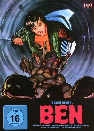 Ben (1972) (Cover B, Limited Edition, Mediabook, Uncut)