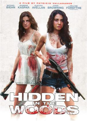 Hidden in the Woods (2014) (Cover B, Collector's Edition, Director's Cut, Limited Edition, Mediabook, Uncut, Blu-ray + 2 DVDs)